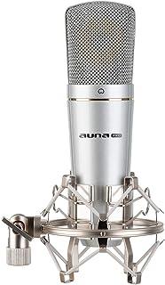 auna Pro MIC-920 USB micrófono de condensación - micrófono con USB, Salida de Altavoces, Plug & Play, característica cardi...
