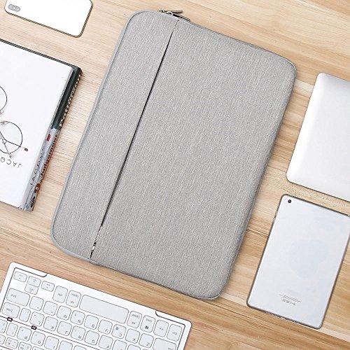 AtailorBird Laptoptasche, Laptophülle 15,6 Zoll stoßfest Notebooktasche Laptop Schutzhülle Notebook Sleeve Hülle PC Laptop Schutztasche(Grau)