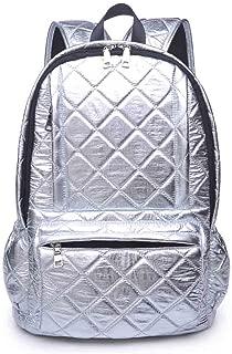Women's Wanderlust Travel Backpack, Silver, One Size