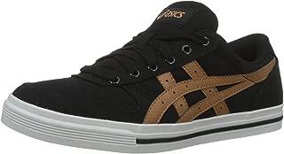 ASICS Tiger Unisex's Aaron Black/Meerkat Sneakers-5 UK/India (Men 39 6 (Women 38 EU/7 US) (HN528.9021)