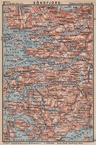 Sogn Og Fjordane Kart