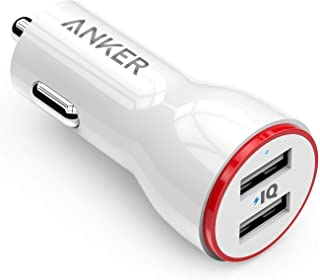 Anker Power Drive 2 24W 2 Port Car Charger For Mobile Phones - A2310H21