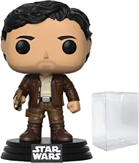 Funko Pop! Star Wars: The Last Jedi - Poe Dameron #192 Vinyl Figure (Bundled with Pop BOX PROTECTOR CASE)