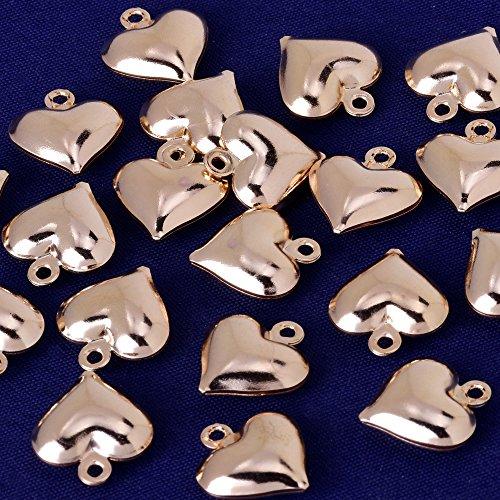 hoge kwaliteit bedeltje 11x13mm Hart hanger, bedeltjes & hangers, pak voor ketting/armband/oorbel ect, verkocht 20 stks/partij