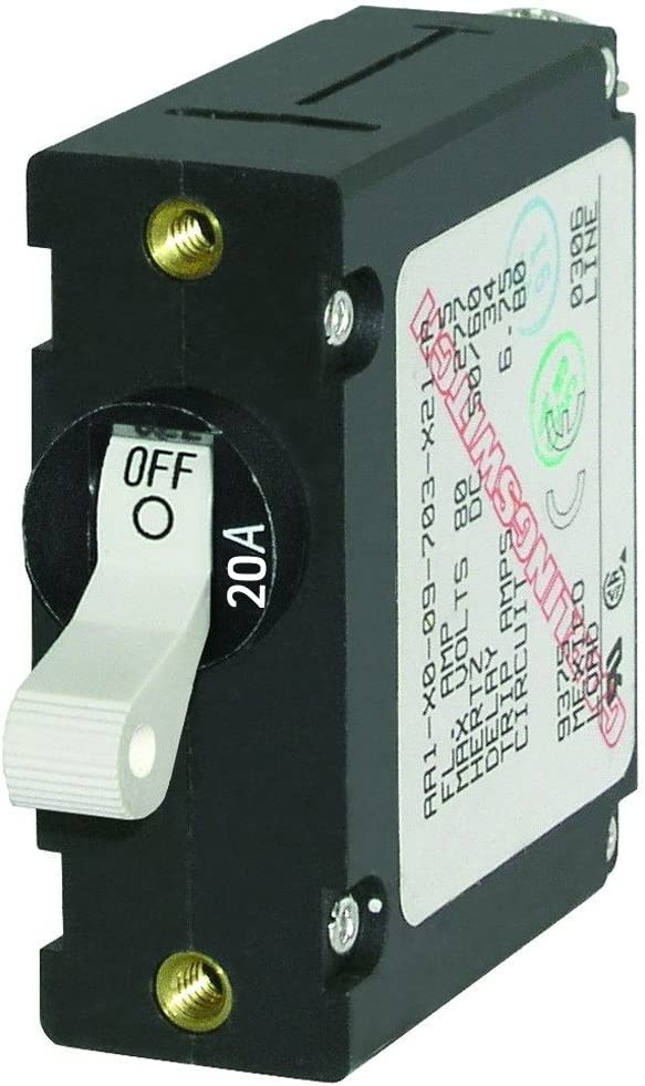 Blue Cheap sale Weekly update Sea 7214 AC DC Single Magnetic World Breaker Pole Circuit