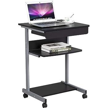 Yaheetech Mesa de Ordenador Escritorio de Computadora Mesa PC con ...