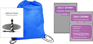 Daily Grams Grade 6 homeschool kit in a bag