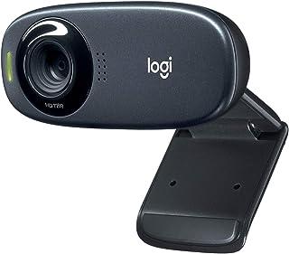 Logitech C310 HD Webcam, HD 720p/30fps, Widescreen HD Video Calling, HD Light Correction, Noise-Reducing Mic, For Skype, F...