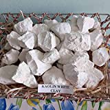 White Kaolin Edible Clay, (4 Oz) Chunks Natural for Eating