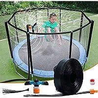 WDERNI 39ft Long Kids Outdoor Trampoline Water Sprinkler