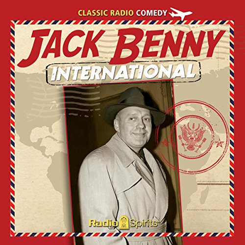 Jack Benny International audiobook cover art