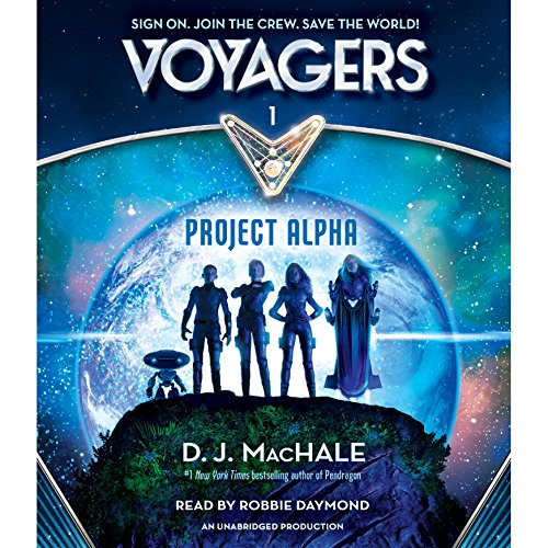 Voyagers audiobook cover art