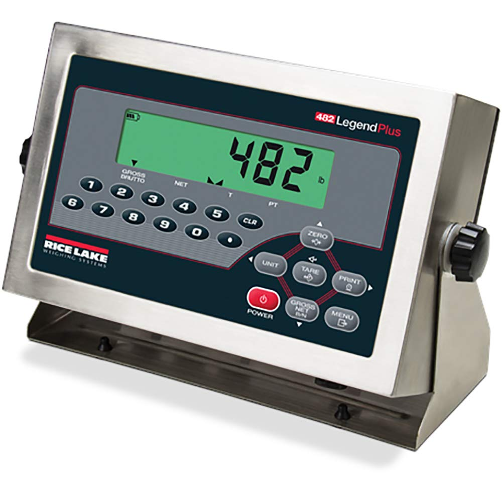 70% OFF Outlet Rice Lake 482+ Legend Series Int with Digital Weight Indicator SEAL limited product