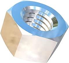 Allied Titanium 0001778, (Pack of 8) 1/2-13 UNC Titanium Hex Nut, Grade 2 (CP)