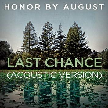 Last Chance (Acoustic Version)