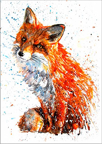 Unframed 8 x 10 Inches Fox Nursery Art Nursery Fox Print