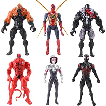 Marvel Ultimate Spider-Man Web Warriors Web Slingers Agent Venom Figure Spiderman B1254AS0