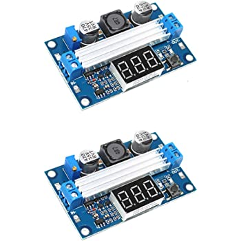 DROK 090183 Waterproof DC Synchronous Boost Converter Regulator DC-DC 9-20V 12V to 24V 5A//120W Step-up Power Supply Circuit Module Adapter with Aluminum Shell for Electric Motor