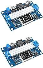 Onyehn LTC1871 DC-DC Boost Step-up Voltage Converter Module 100W High Power Adjustable Output 3.5-35V Power Regulator Board with LED Voltage Meter (2pcs of Pack)