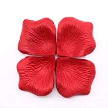 1000 pieces artificial silk flower petals - Red