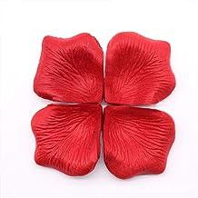 1000 pieces artificial silk flower petals - Red