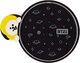 BT21 Official Merchandise by Line Friends - CHIMMY Character Wireless QI Phone Charger Pad 10W, Black