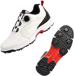 حذاء جولف رجالي من Tukoy مزود بـ 7 مخارز احترافية للرياضة الغولف