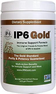 IP6 Gold Original IP-6 & Myo-Inositol Immune Support Powder Mango Passionfruit Flavor 412 gm