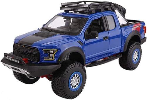 GFLD Modèles préfabriqués à l'échelle de véhicules à Moteur 1 24 Alliage de Voiture modèle 2017 Ford F150 Pickup modèle US Pick-up