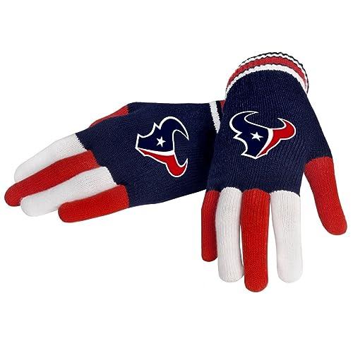 FOCO NFL Unisex Multi Color Team Knit Glove 84fb09df480b