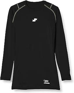 [エスエスケイ] アンダーシャツ SCβやわらかローネック長袖フィットアンダーシャツ メンズ SCB019LL
