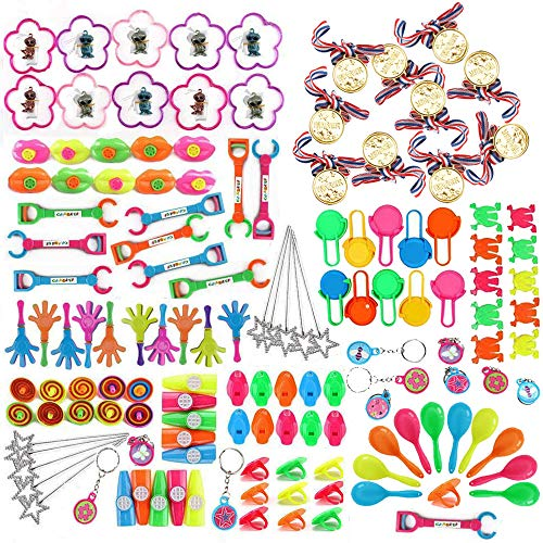 nicknack 150 Stück Mitgebsel Kleinspielzeug für Kindergeburtstag Party,Pinata Spielzeug