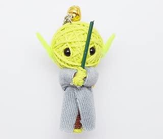 (VD001) Yoda Star Wars Handmade Voodoo String Doll Keychain