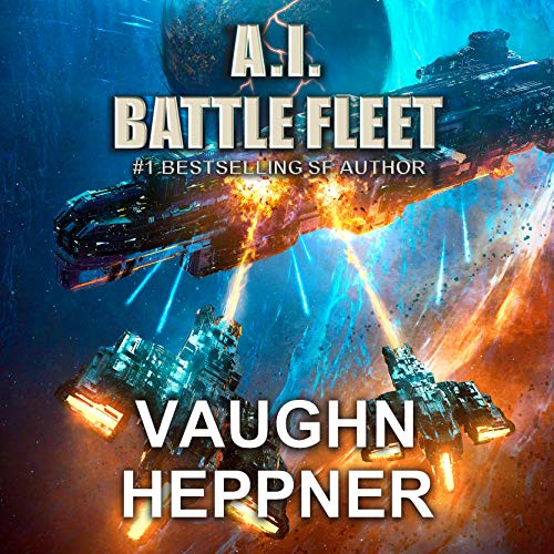 A.I. Battle Fleet audiobook cover art
