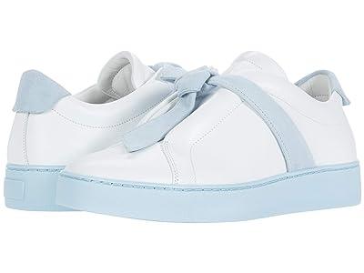 Alexandre Birman Clarita Sneaker Color Sole (White/Crystal Blue) Women