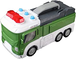 GXOK [Ship from USA Directly], Play Vehicles, Deformation Military Truck Multiple Sound Effects Military Base with LED Lights,Toy Car for All Adults and Kids and Vehicle Lovers of All Ages