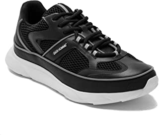 Dior Homme Men's Leather Mesh Runner Shoes Black