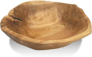 Handmade Bread bowl Fruit bowl USA #17 Poplar Wood