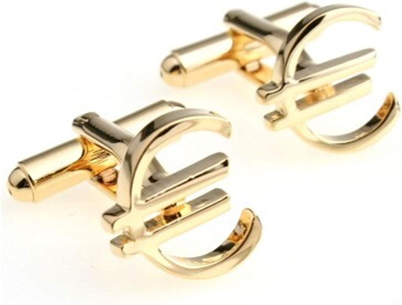 WAZG SYBLD Fashion Cufflinks (Metal Color : 4)