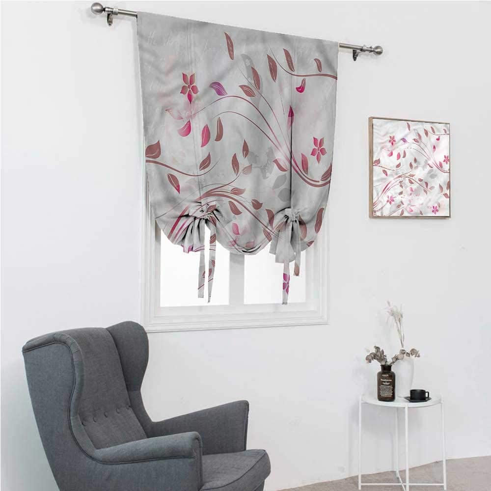 Blackout Curtain Flower Kids Cur Portland Super beauty product restock quality top! Mall Curtains Spring Nature