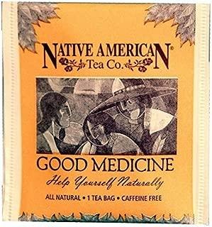 Good Medicine Native American Herbal Tea (100 Tea Bag Box), Spearmint Flavor