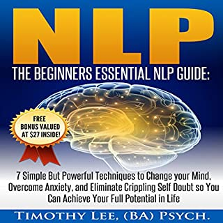 NLP: The Beginners Essential NLP Guide audiobook cover art