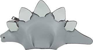 QZUnique Women Cute 3D Dinosaur Animal Style Shoulder Handbag Zipper Crossbody Purse Messenger Bag
