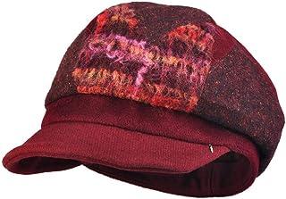 Soft Beret Hat Women Autumn Winter Warm Beanie Classic Vintage Artist Flat Cap, Outdoor Thermal Hat(57.5cm)