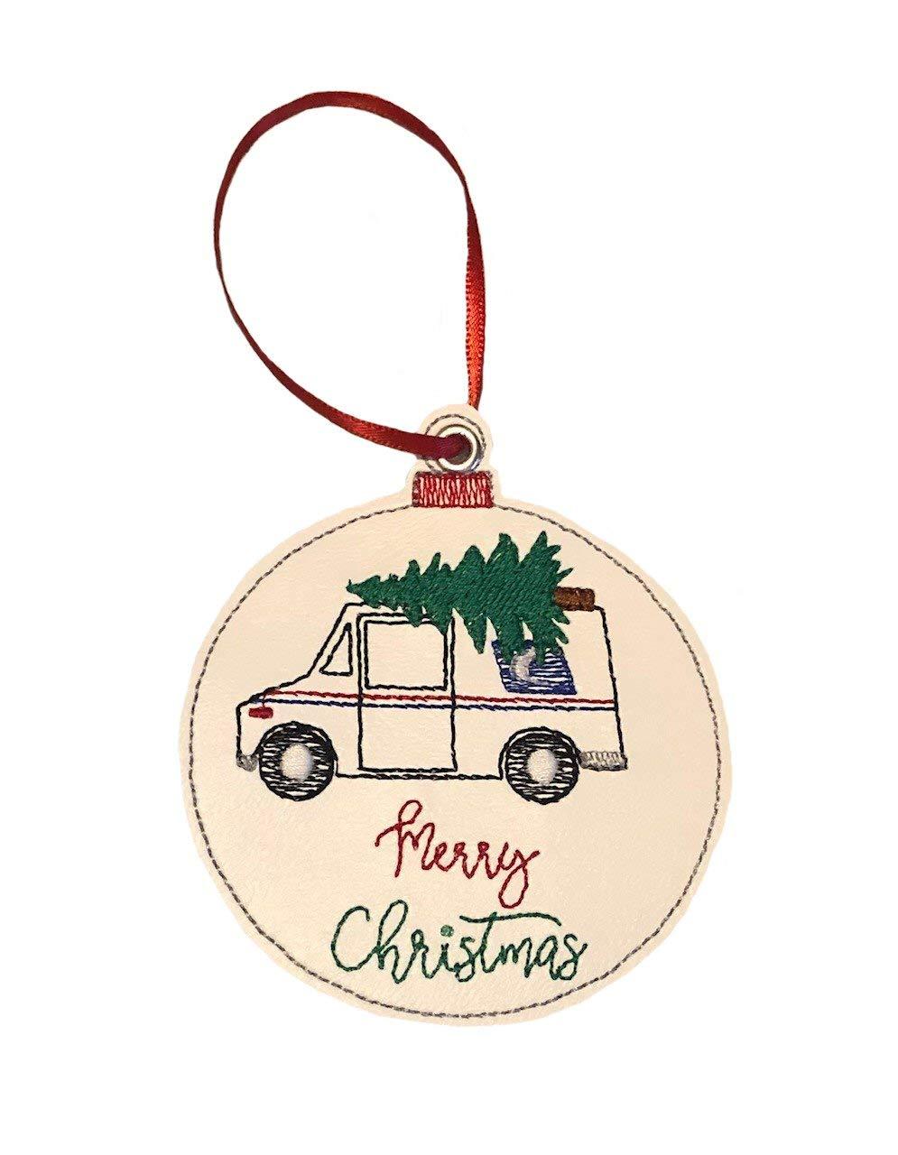 Christmas Sale item Tree Mail Tucson Mall Truck Ornament