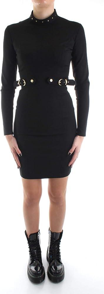 Versace jeans couture abito corto con maniche lunghe D2 HUB421 11682