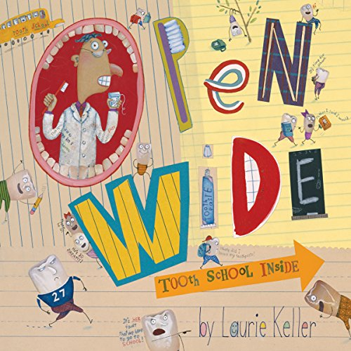 Open Wide Tooth School Inside                   By:                                                                                                                                 Laurie Keller                               Narrated by:                                                                                                                                 Michael McKean                      Length: 20 mins     Not rated yet     Overall 0.0