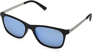 767da85cbb Pepe Jeans AJAX Gafas de Sol, Negro (Black/Blue), 53.0 Unisex