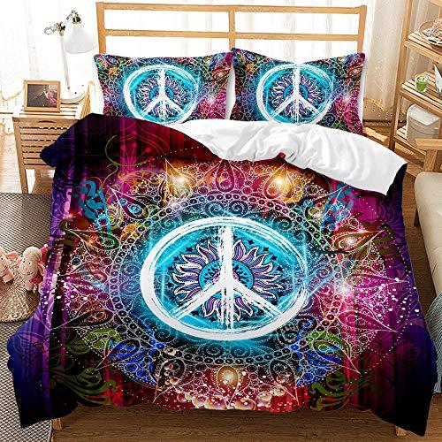 Bedclothes-Blanket Funda nórdica 3D 220x240,SQUET Tres Piezas CASA 3D IMPRESIÓN Digital Cama Digital SINGO SINGO Agujero VACÍO Agujero-6_240 * 220cm