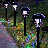 LE Solar Garden Lights, LED Pathway Lights...